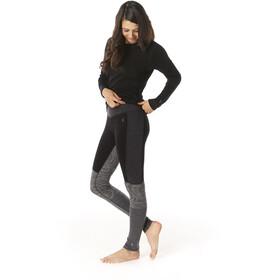 Smartwool Merino 250 Asym Parte inferior Mujer, black snow swirl